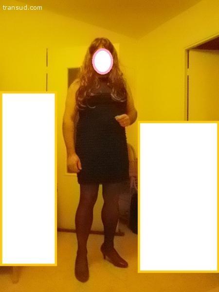 CLARA Travestie amatrice gard recherche copine TV ou femme
